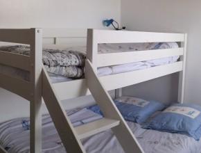 Chambre enfants avec lit double + lit simple